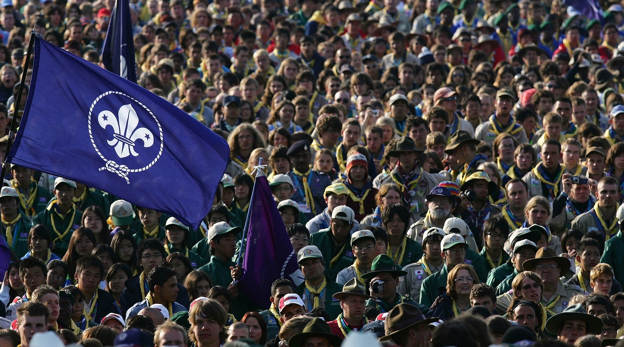 Not a member? Join the World of Scouting, Right Here, Right Now