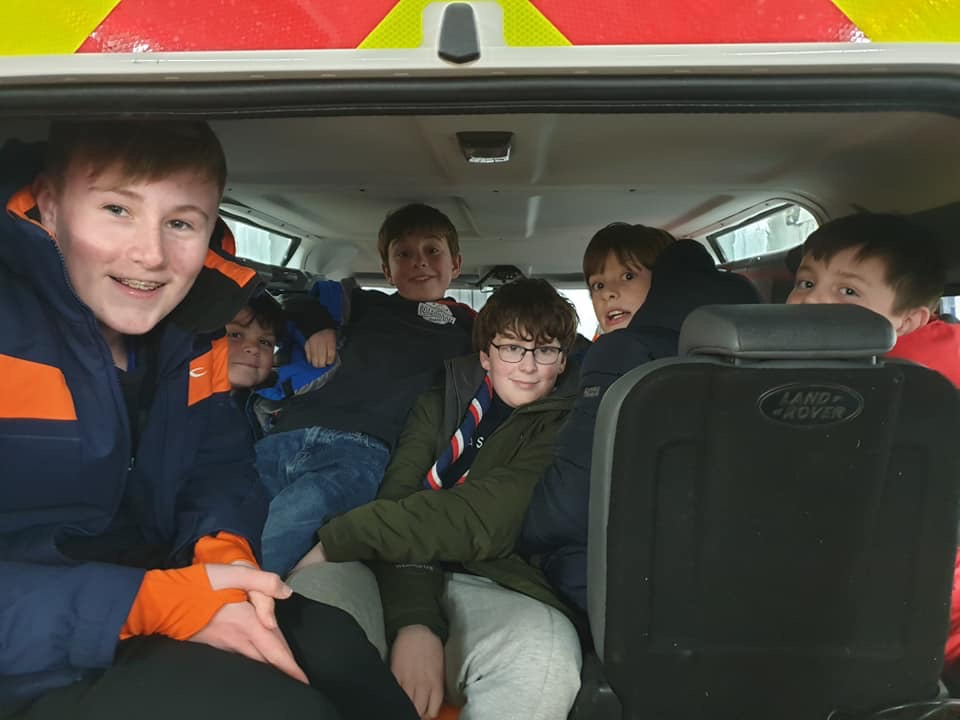 Gale Force RNLI Call
